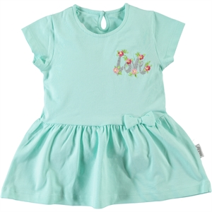 Kujju 6-18 Months Baby Girl Mint Green Dress