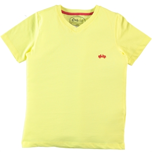 Cvl Boy T-Shirt Yellow Age 10-13