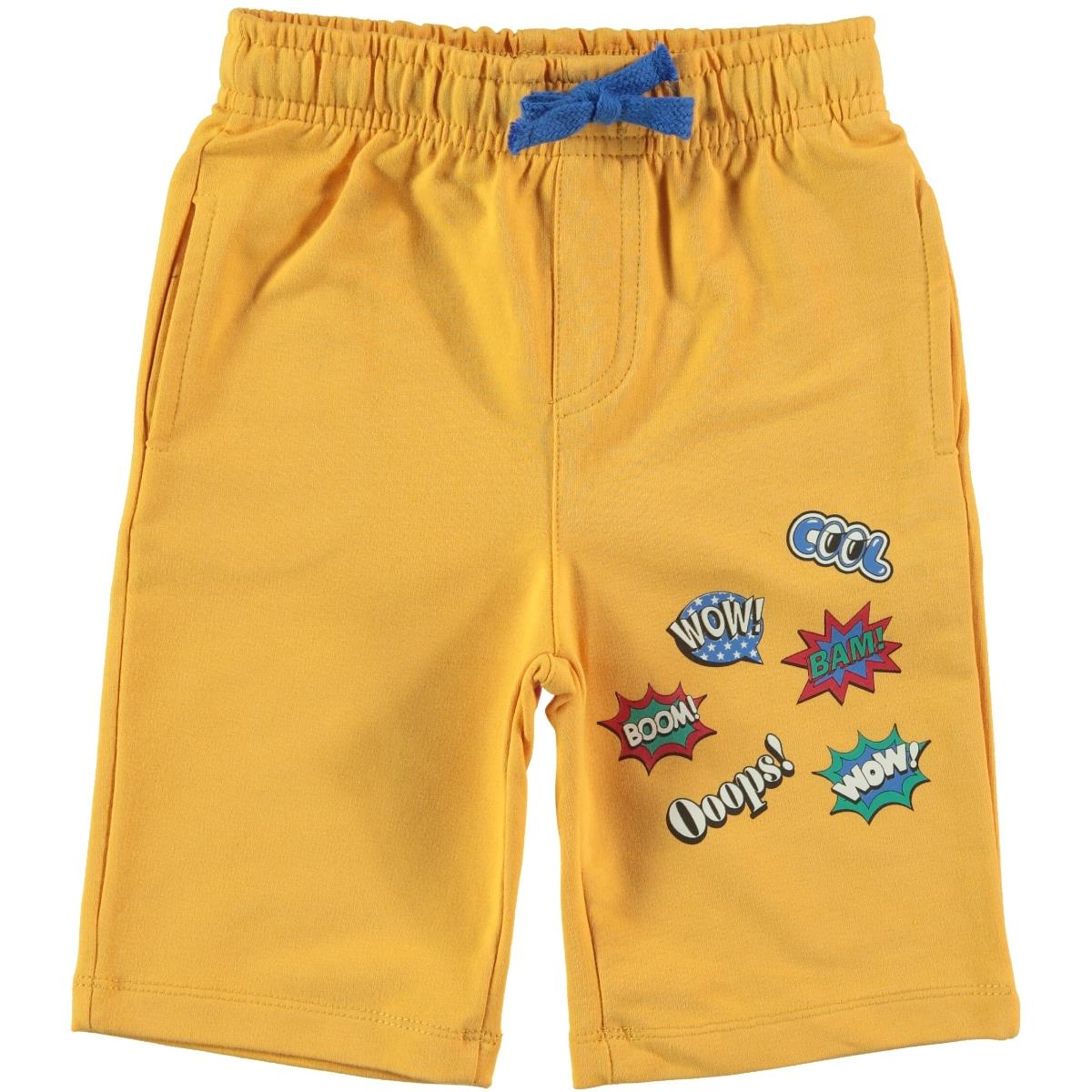 Cvl Boy Age 2-5 Mustard Capri
