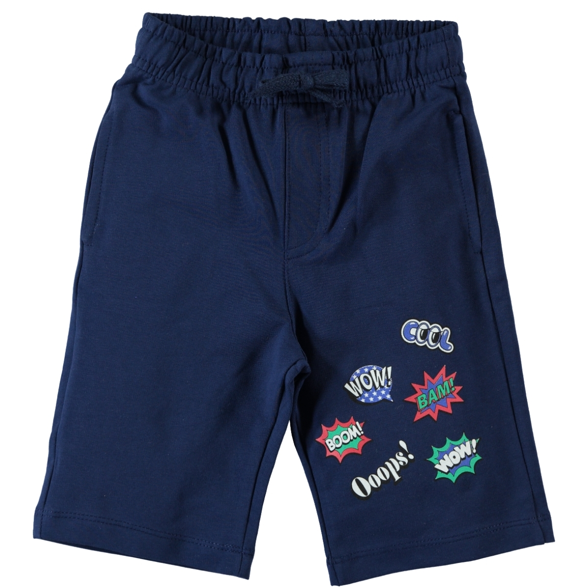 Cvl 2-5 Years Navy Blue Boy Capri