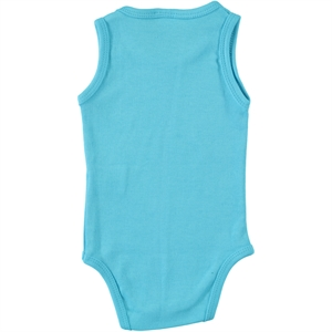 Civil Baby Turquoise Baby Bodysuit With Snaps 3-24 Months (3)