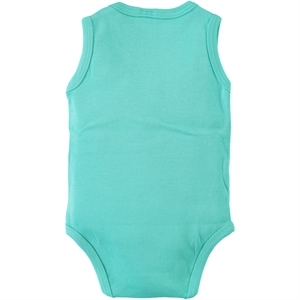 Civil Baby 3-24 Months Baby Mint Green Bodysuit With Snaps (3)