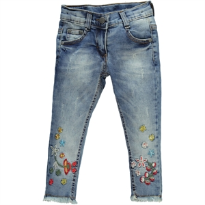 Civil Girls 2-5 Years Blue Girl Jeans