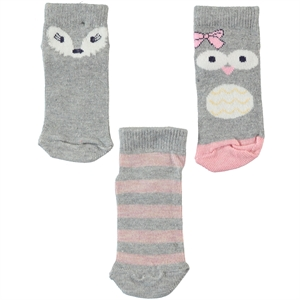 Civil Girls Age 2-12 Girl Socks Grey