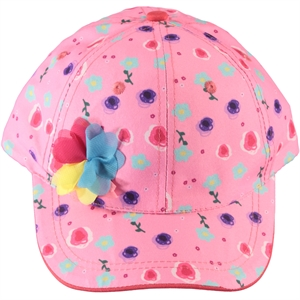 Kitti Boy Girl Pink Hat Cap Ages 9-15