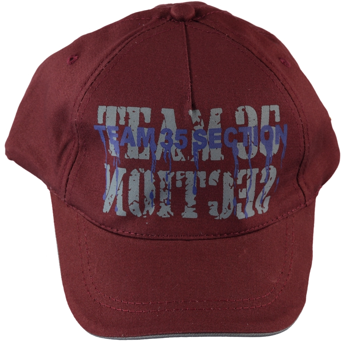 Kitti Boy Cap Hat Burgundy The Ages Of 9-15