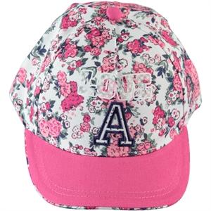 Kitti Kız Çocuk Kep Şapka 4-8 Yaş Beyaz