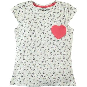 Cvl Girl Kids T-Shirt Age 6-9 Ecru