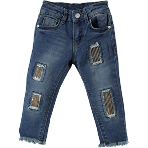 Civil Girls Girl Jeans Indigo Aged 6-9