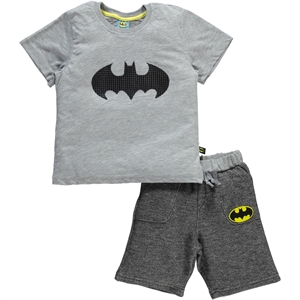 Batman Gray Boy Age 4-9 Team