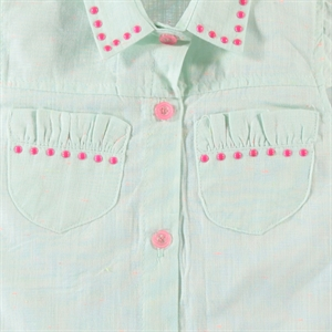 Civil Girls Mint Green Shirt Boy Girl Age 6-9 (3)