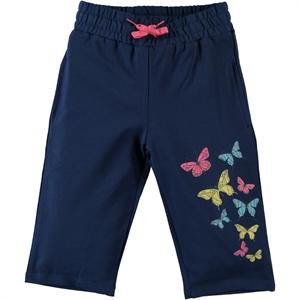 Cvl Age 6-9 Boy Girl Navy Blue Capri