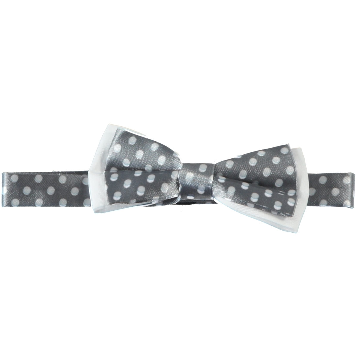 Civil Boy Bow Tie Grey