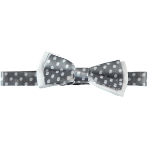 Civil Boy Bow Tie Grey