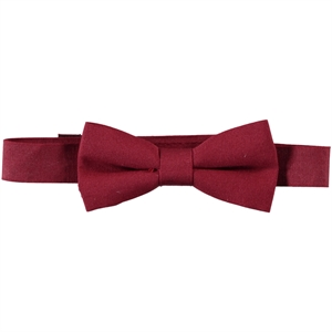 Civil Burgundy Bow Tie Boy