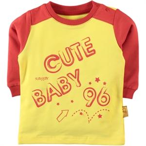 Kujju 6-18 Months Baby Boy Yellow Sweatshirt