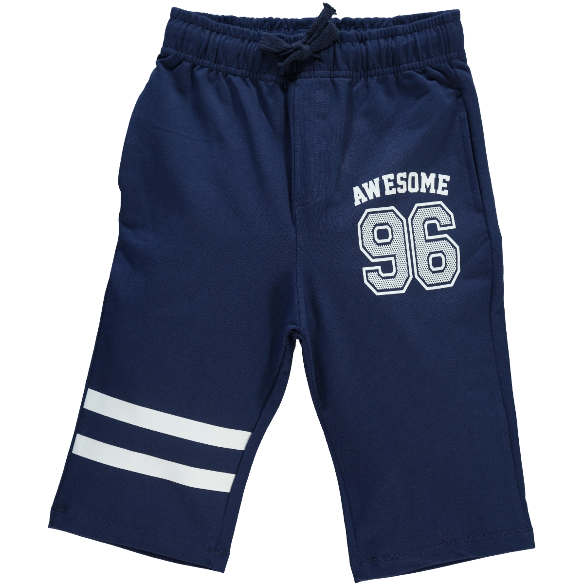 Cvl Age 6-9 Boy Navy Blue Capri