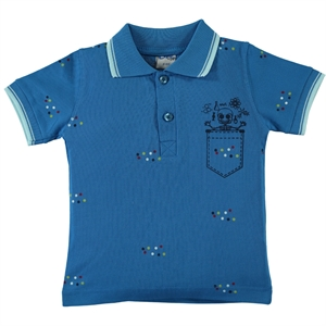 Civil Boys Boy T-Shirt Saks Blue 2-5 Years