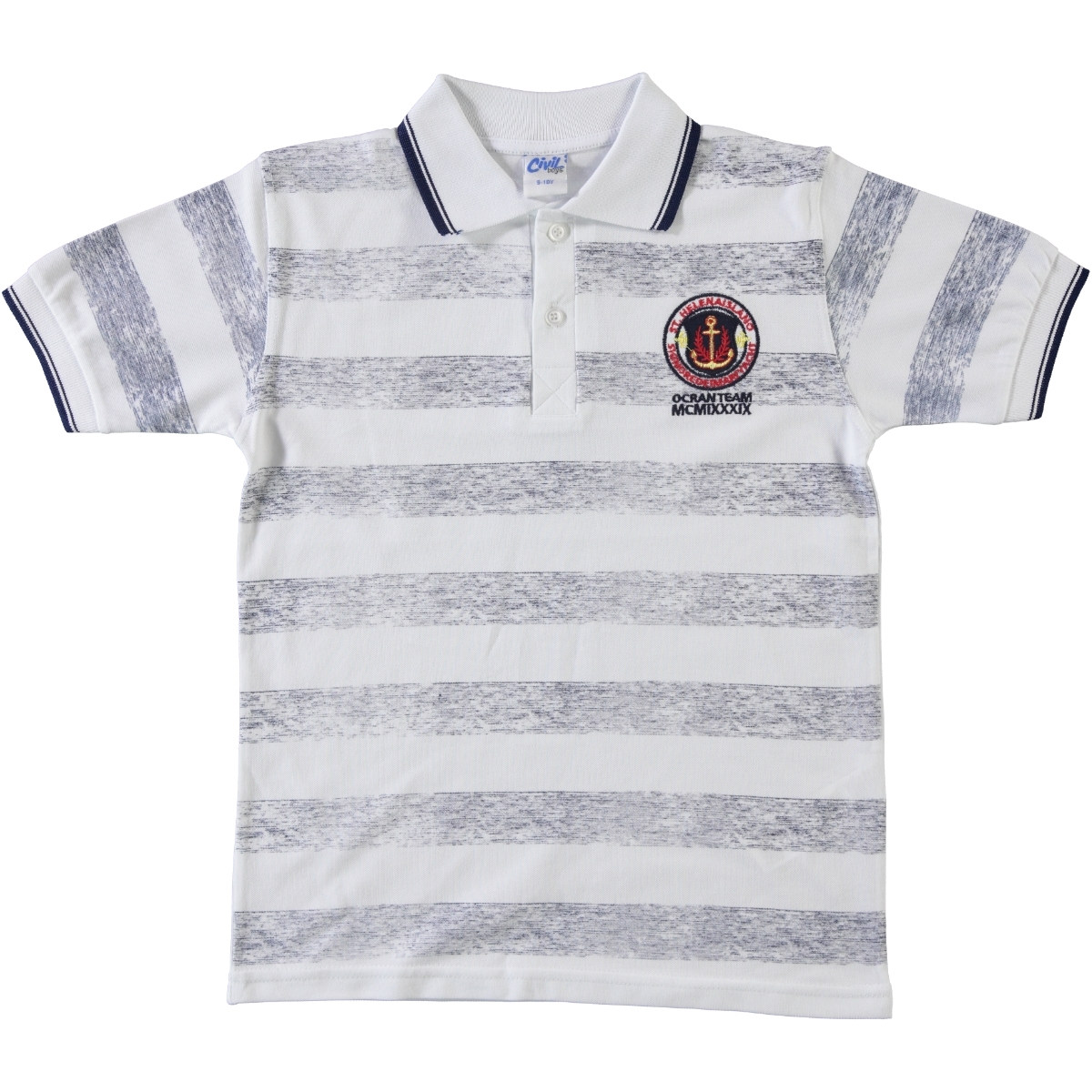 Civil Boys Boy T-Shirt White Ages 6-9