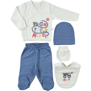 Civil Baby Baby boy Newborn 5 Zibin Indigo Kit (1)