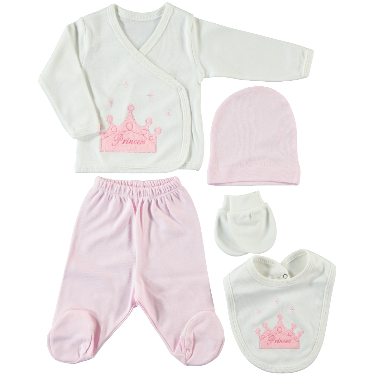Civil Baby Newborn baby girl pink kit 5 Zibin