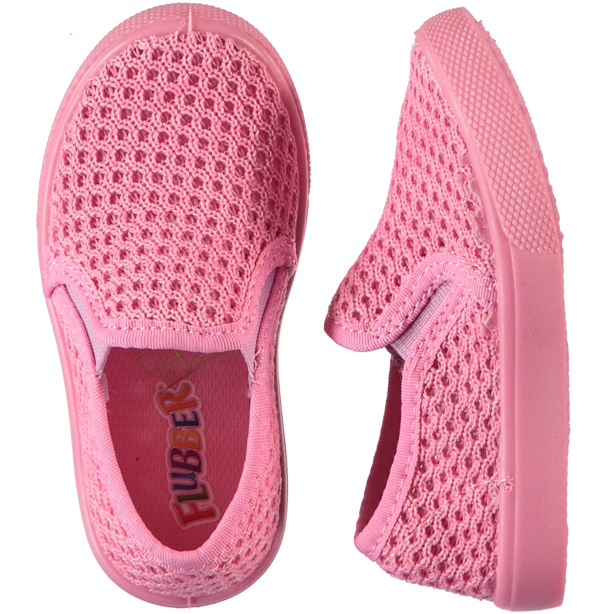 Flubber Pink Baby Girl Shoes 21-25 Number