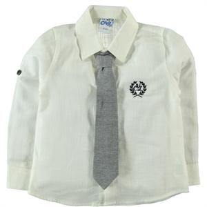 Civil Boys Navy Blue Boy Shirt Age 6-9