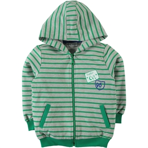 Cvl Yesil 2-5 Years Boy Hooded Cardigan