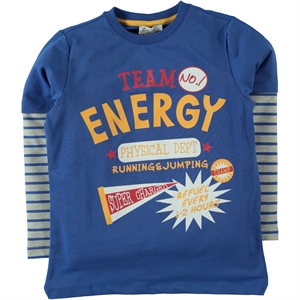 Cvl Age 6-9 Boy Blue Sweatshirt Saks