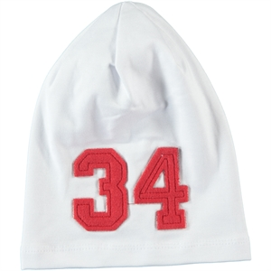 Albimama White Boy Beanie 2-5 Years