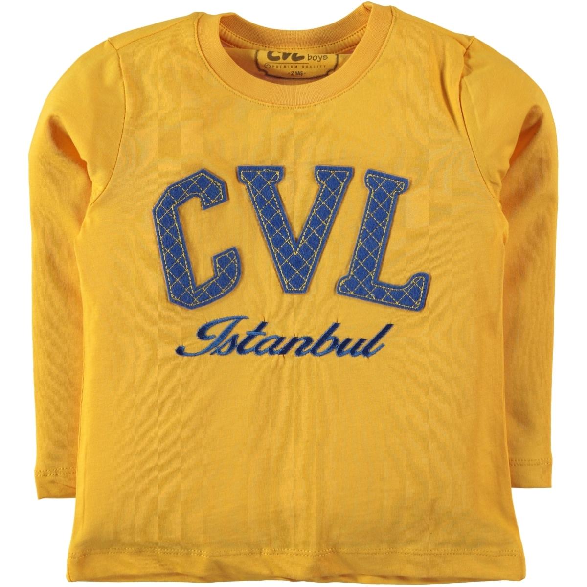 Cvl Mustard Sweatshirt Boy Age 10-13