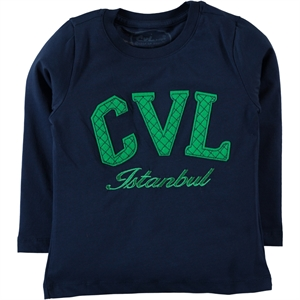 Cvl Navy Blue Sweatshirt Boy Age 10-13