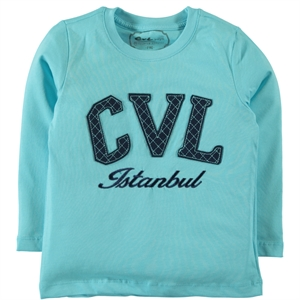 Cvl The Ages Of 10-13 Boy's Sweatshirt Turquoise