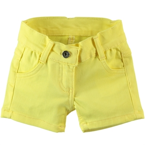 Civil Baby 6-18 Months Baby Girl Yellow Shorts