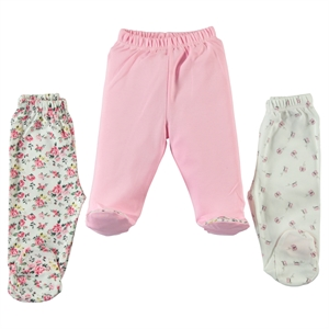Misket Baby girl Patterned 3-Oh single child baby booty Pink 1-3 months