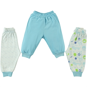 Misket Baby 3-gang single alt 1-9 months, turquoise