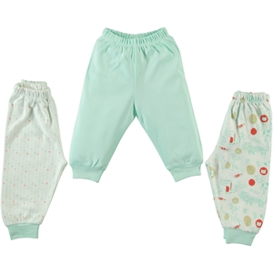Misket Baby 3-gang single alt 1-9 months mint green
