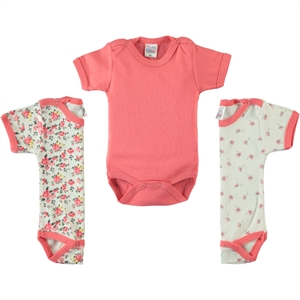 Misket Baby girl Bodysuit with snaps 3-0-12 months, tongue in cheek