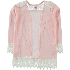 Civil Girls Girl Pink Cardigan Age 6-9