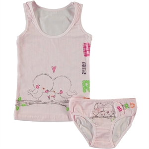 Civil The Girl Child-Patterned Pink Underwear The Ages Of 2-9 Team