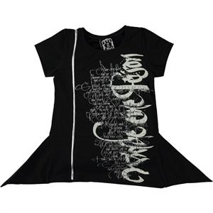 Civil Girls Girl Black Bodysuit-Age 6-9