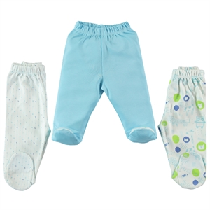 Misket Oh Baby Boy Baby Single Child 1-3 Months Turquoise Booty