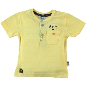 Civil Baby Baby Boy T-Shirt Yellow-6-18 Months