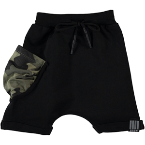 Victory 2-5 Years Black Boy Shorts