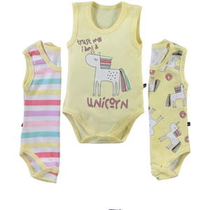 Babycool Baby girl Bodysuit with snaps 3-3-18 Months Yellow