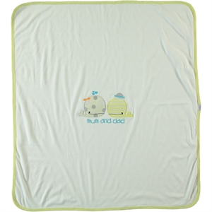 Kujju Combed Yellow baby Blankets 80x90 cm (2)
