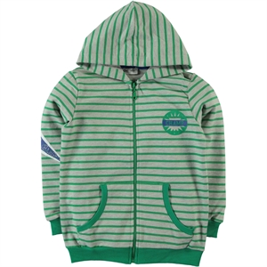 Cvl Yesil Boy Hooded Cardigan Age 6-9