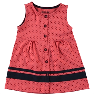 Kujju 6-18 Months Baby Girl Dress, Tongue In Cheek