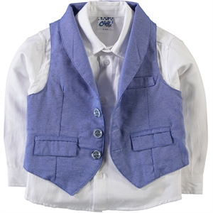 Civil Boys Boy Team 2-2-5 years Saks Blue