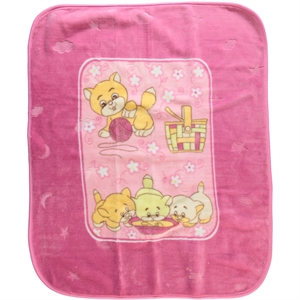 İlk Cemre Pink Plush Blanket will be installed cm records
